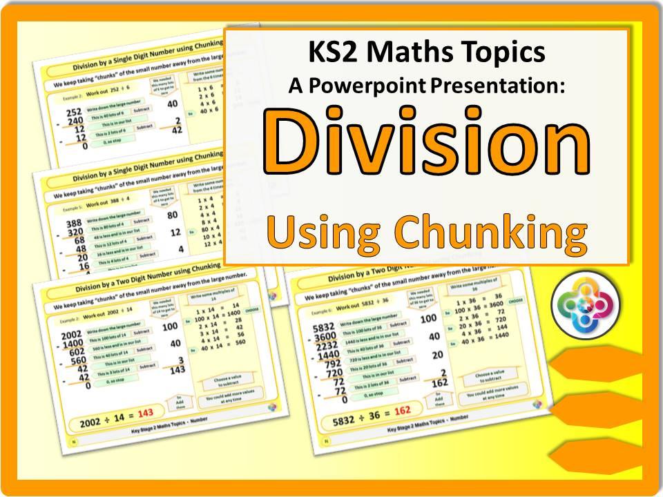 Division using Chunking KS2