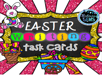 Easter Writing Task Cards