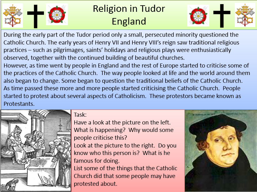 Religion in Tudor England