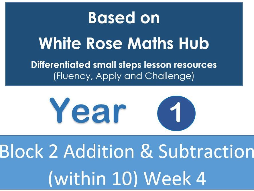 Year 1 - Autumn Block 2 - Week 4 (Addition and Subtraction) White Rose Maths Hub