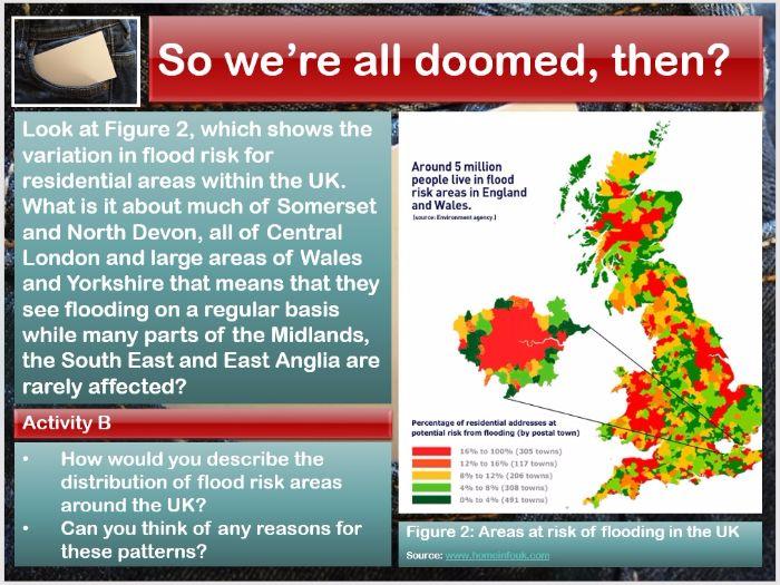 AQA 9-1 GCSE Geography - Flood Risk