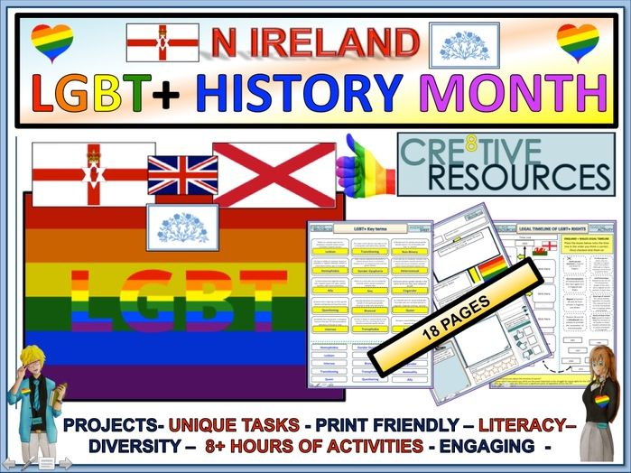 LGBT+ Month 2019 : Northern Ireland.