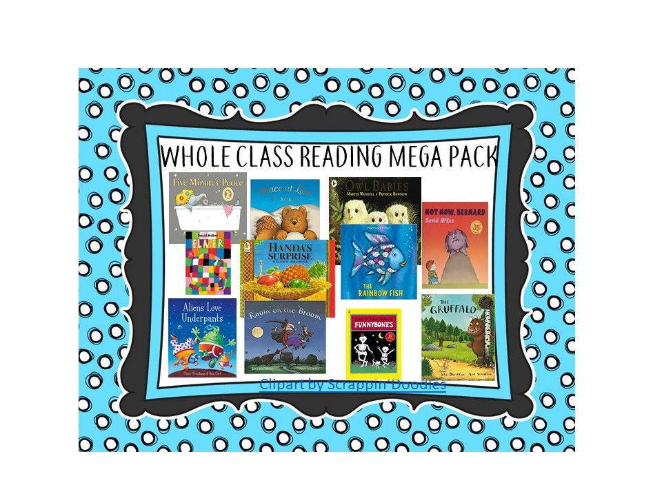 Whole Class Reading Mega Pack-EYFS & KS1