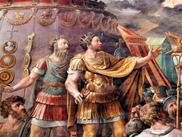 Constantine's Early Life and Rise to Power
