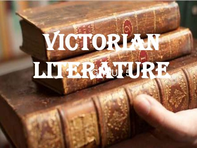 Introduction to Victorian and Early 20th C Literature