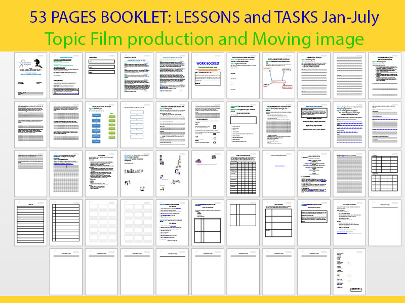 MEDIA BOOKLETS and lesson RESOURCES USED IN TEACHING THE MEDIA STUDIES COURSE!