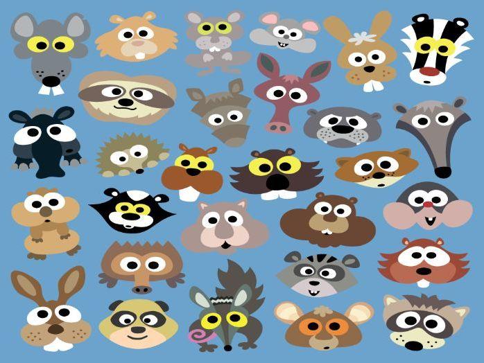 Printable Critter Masks