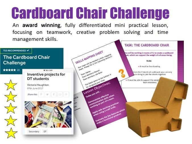 D&T Mini Project Practical: The Cardboard Chair Challenge