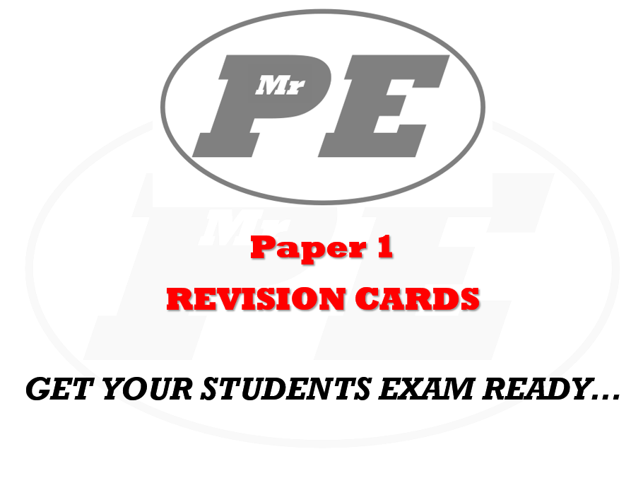 FLASHCARDS Paper 1