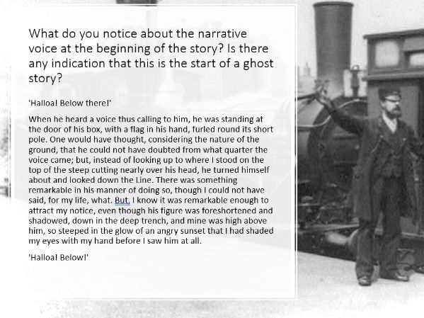19th C Ghost Story: The Signalman