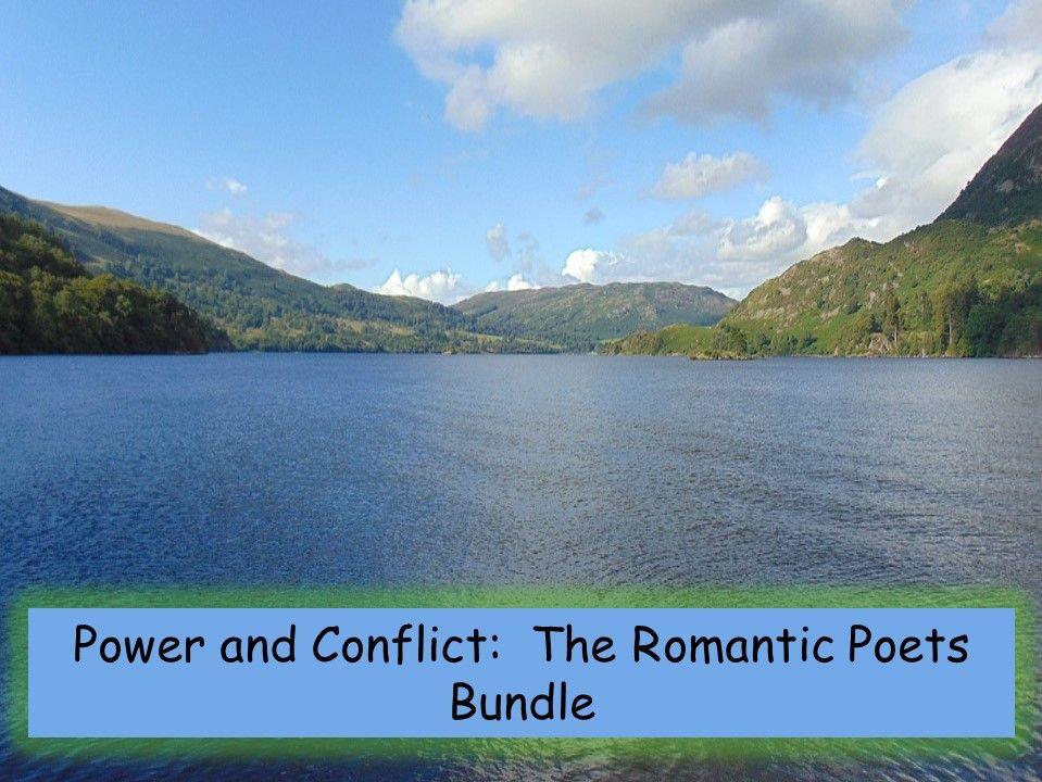 Power and Conflict: Romantic Poets Bundle