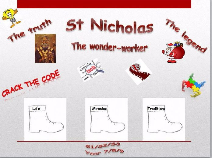 St. Nicholas - the Truth and the Legend