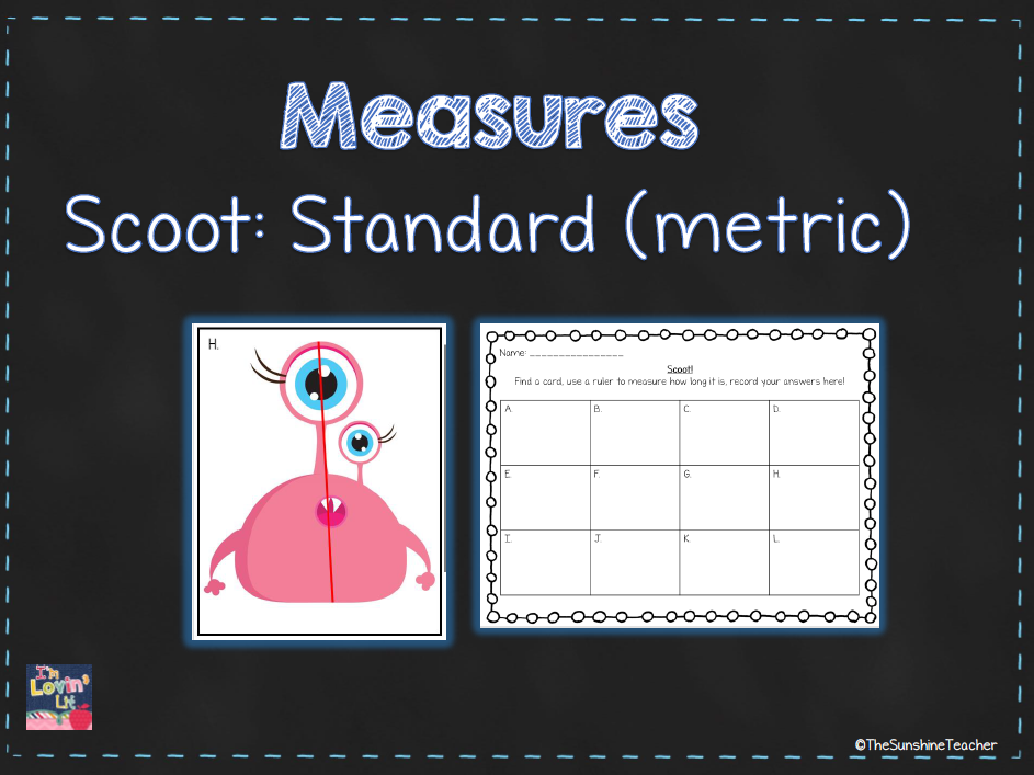 Standard Measures - Measurement - Metric - Maths Activity