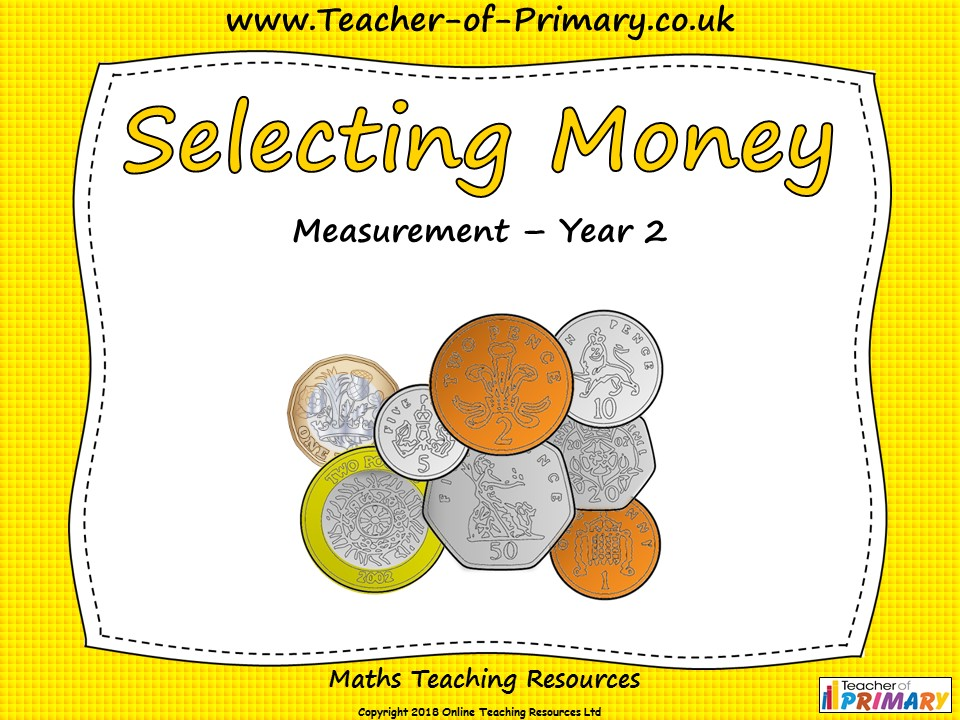 Selecting Money - Year 2