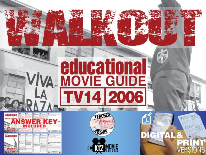 Walkout Movie Guide | Questions | Worksheet (TV14 - 2006)