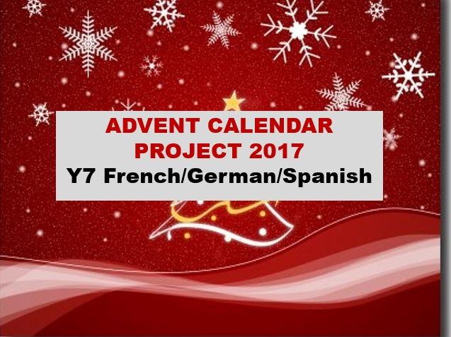 MFL Advent calendar - Competition