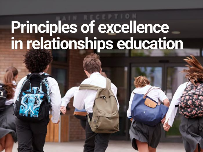 Principles of Excellence in Relationships Education