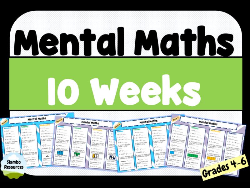 Daily Mental Maths | Year 4 & 5