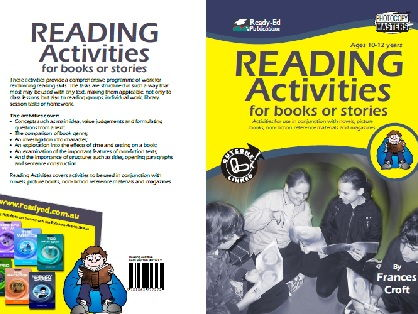 Reading Activities for Books or Stories - For Ages 10 – 12 Years