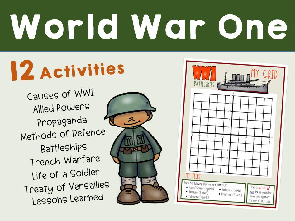 WWI Topic Bundle