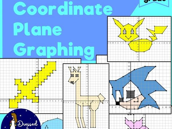 Mystery Coordinate Plane Graphing