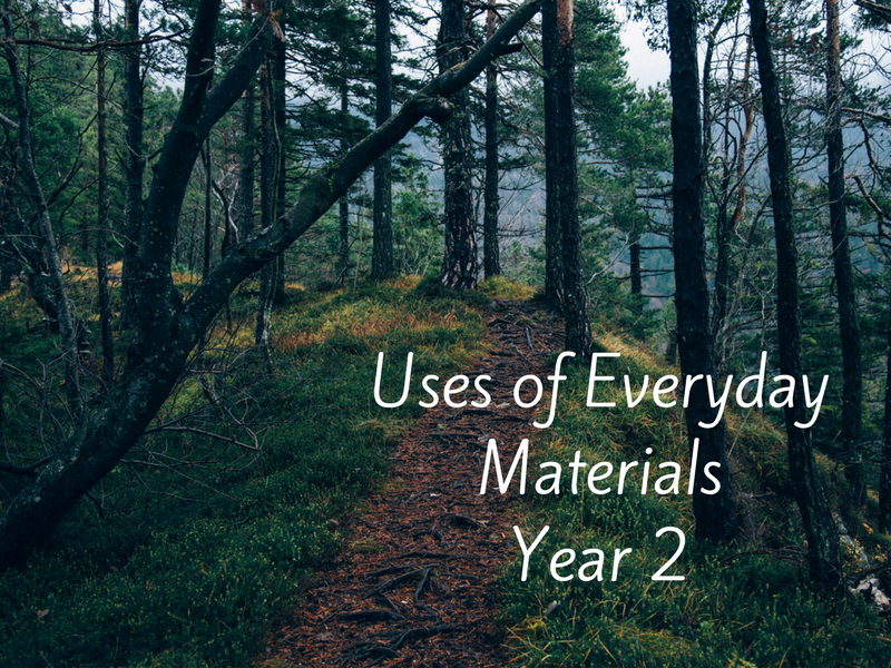 Uses of Everyday Materials Year 2 Lesson Plan