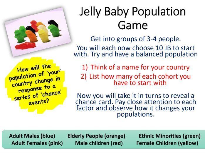 IB Changing Population Lesson 3 (Population Change)