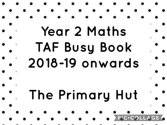 Year 2 Maths TAF Evidence Book 2018-19