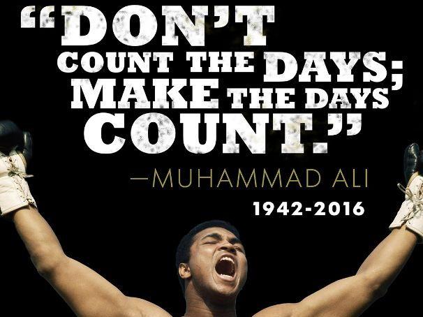 Muhammad Ali: non fiction analysis and writing/presentation tasks
