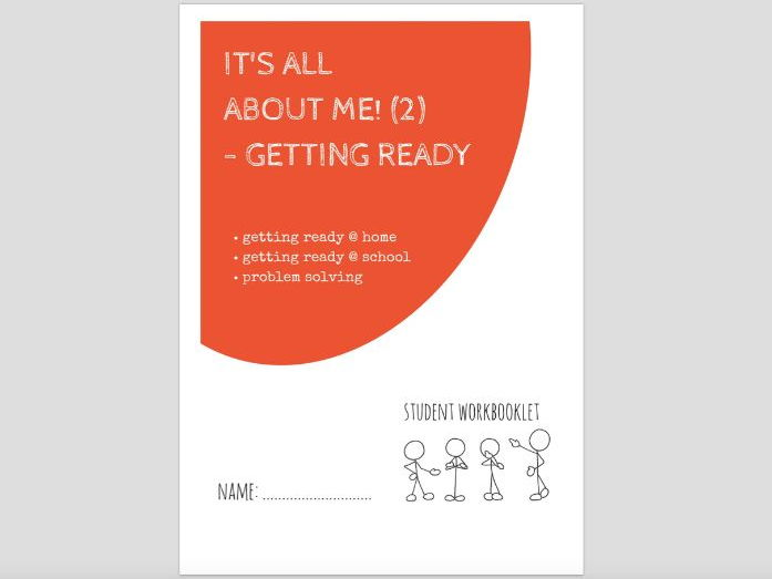 SPECIAL EDUCATION - ALL ABOUT ME (2) - GETTING READY workbooklet