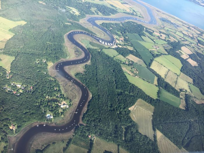 coasts and rivers  a flight over england by sarah277