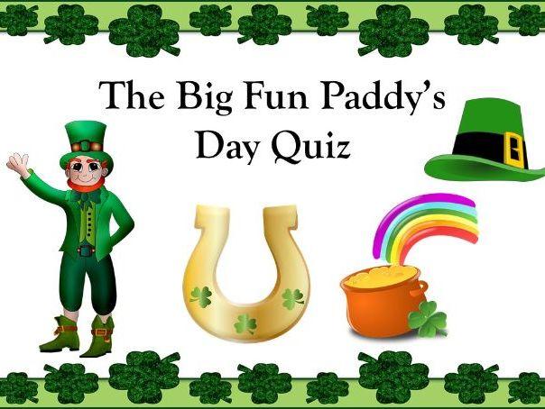 Fun Saint Patrick's Day Quiz
