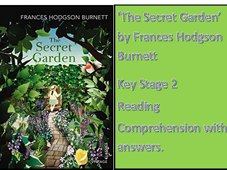 Reading Comprehension: The Secret Garden