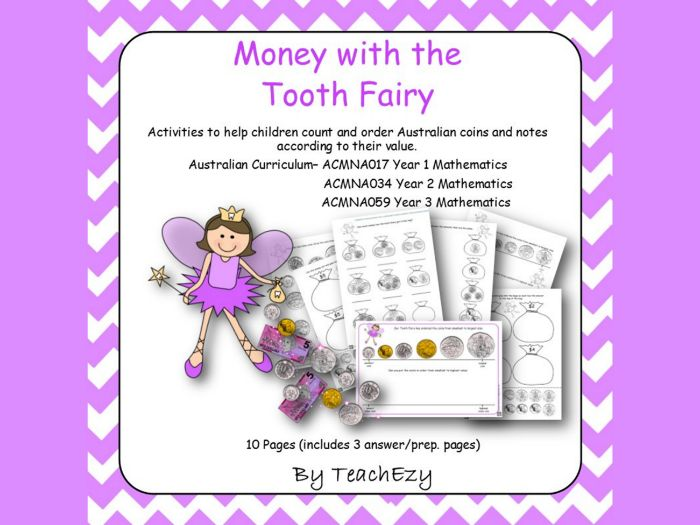 Money with the Tooth Fairy