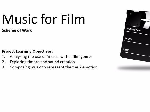 Film Music Complete Scheme of Work and Resources