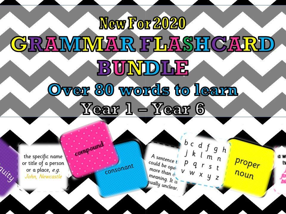 Grammar Bundle Year 1,2,3,4,5 and 6