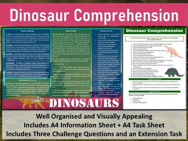 Dinosaur Comprehension