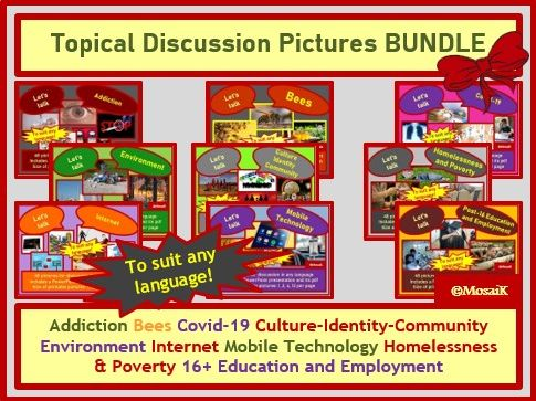 Global Topics for Discussion BUNDLE