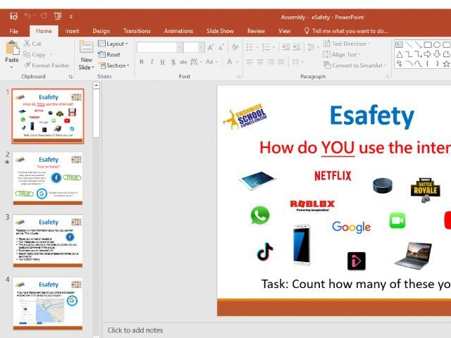 eSafety Assembly - Primary