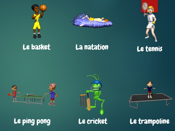 French sports presentation