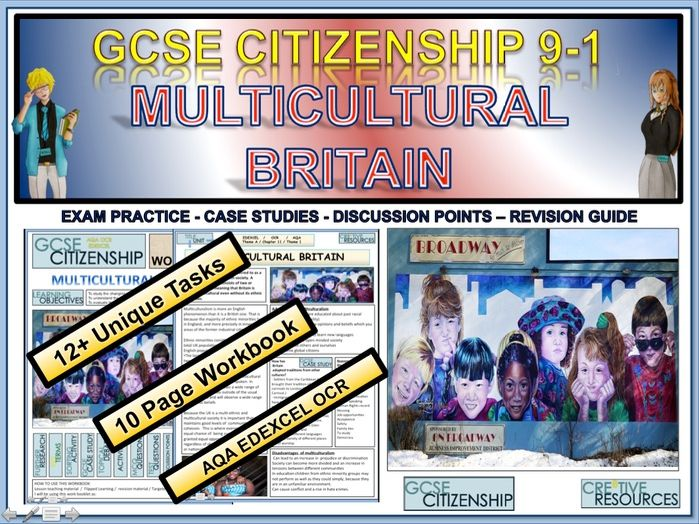 Multicultural Britain Work Booklet