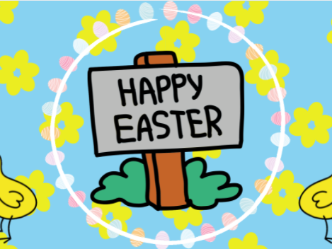 Google Classroom Easter GIF