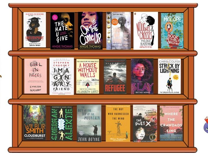 Virtual Classroom Library - for middle & high school students