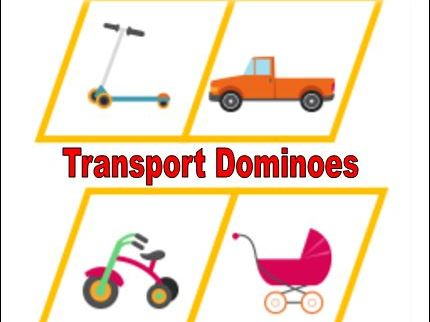 Transport Dominoes Game