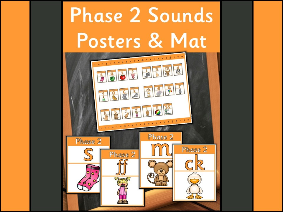 Phase 2 Sounds Posters and Mat