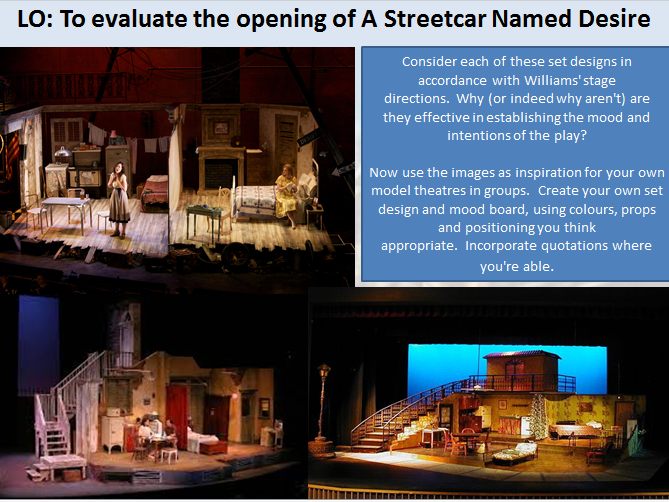 A Streetcar Named Desire SOW