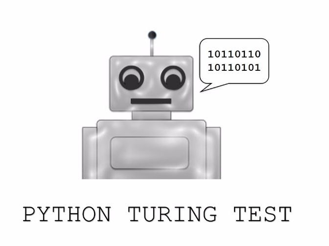 Python Turing Test – Creating a chatting robot (Chat bot)