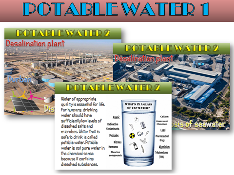 Potable Water - New AQA 2016 Chemistry