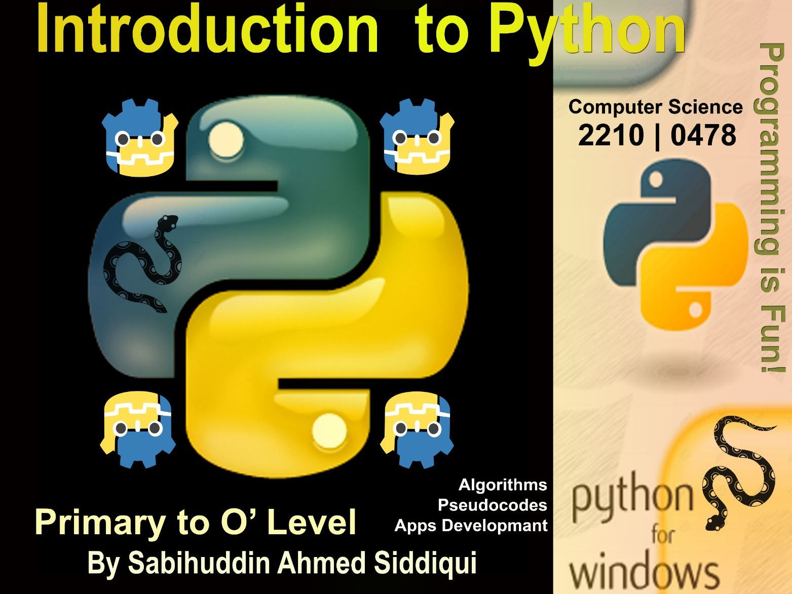 Introduction to Python 3.5/6 Primary to O' Level Series Part 1