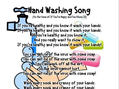 Handwashing Song Freebie